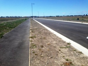 Road in Wigram